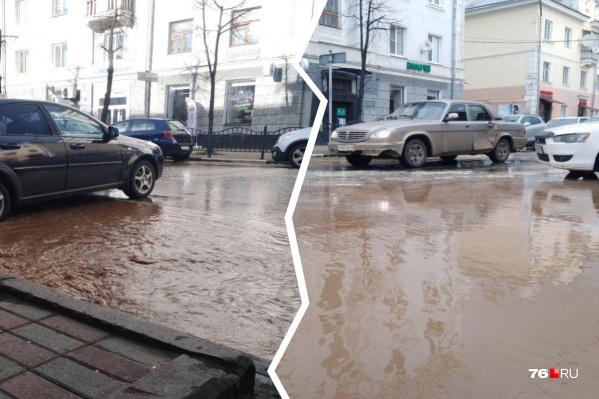 В мэрии и водоканале пока не могут сказать, что произошло на Депутатской улице