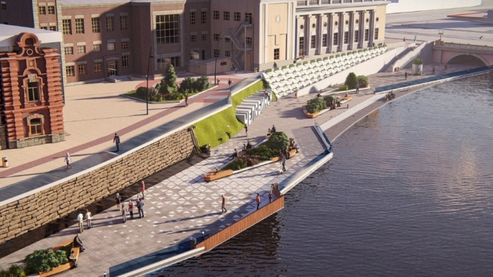 Полумиллиардный контракт на обустройство набережной в Челябинске отдали компании с одним сотрудником