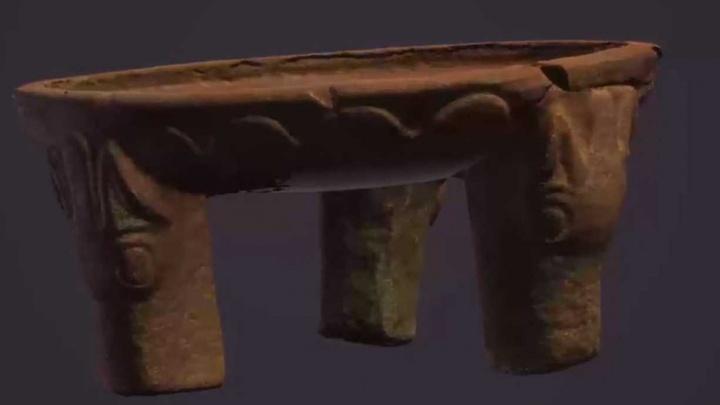 Ученый из Стерлитамака воссоздал в 3D сарматский жертвенник