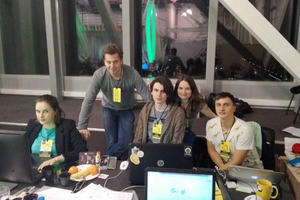 УчастникиChoo-Choo Team на геймджеме