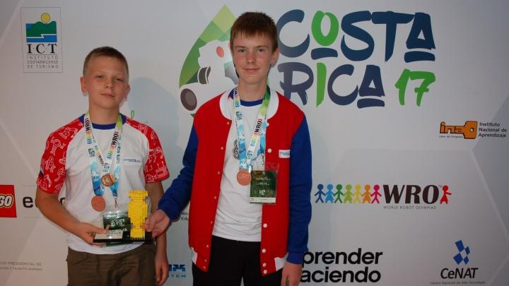Школьники из Свердловской области вошли в тройку победителей Всемирной олимпиады робототехники