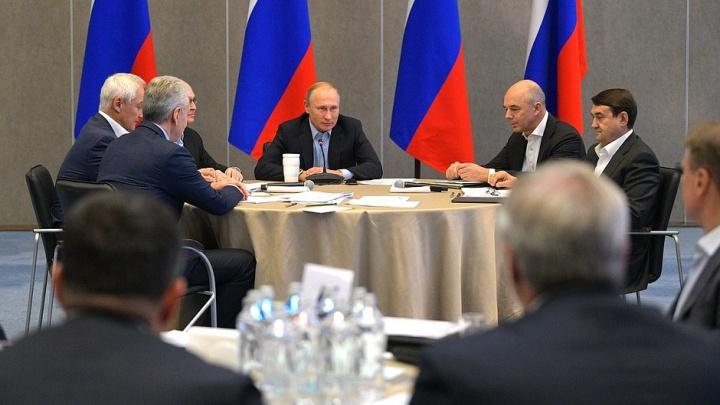 Радий Хабиров получил наказ от Владимира Путина