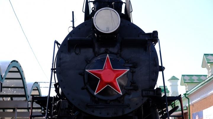 В Пермь прибыл поезд Победы. Смотрим, как выглядел санитарный вагон времен войны