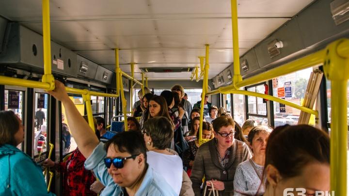 Автобусы № 50 и 51 будут возить самарцев бесплатно от Батайской до Красной Глинки