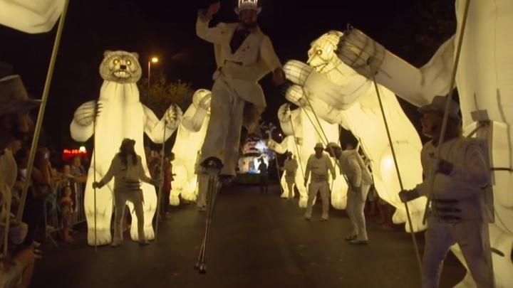 В Красноярск везут французский уличный театр с 4-метровыми танцующими медведями