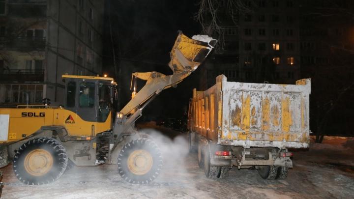 Публикуем список нижегородских дворов, которые очистят от снега, чтобы избежать паводка