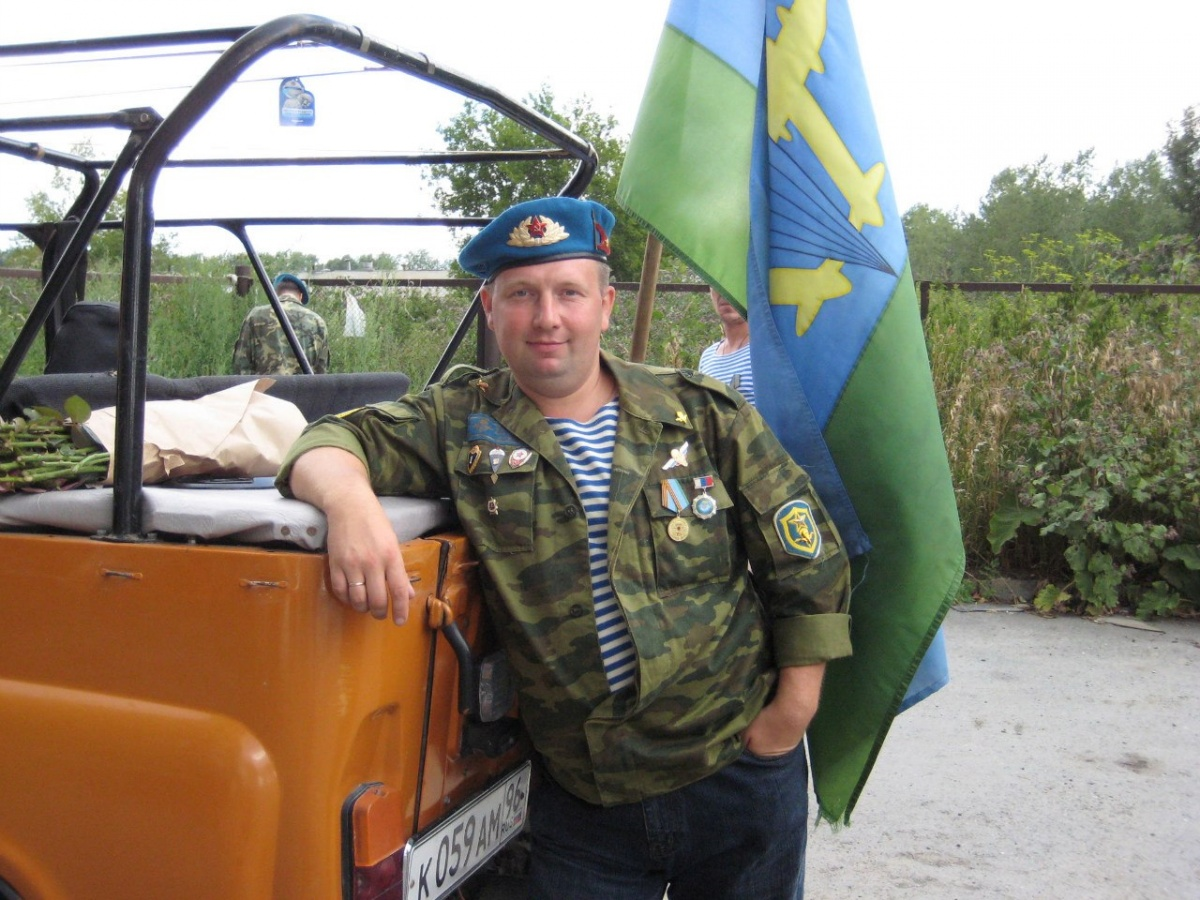 Андрей служил в ВДВ, сын хочет пойти по его стопам