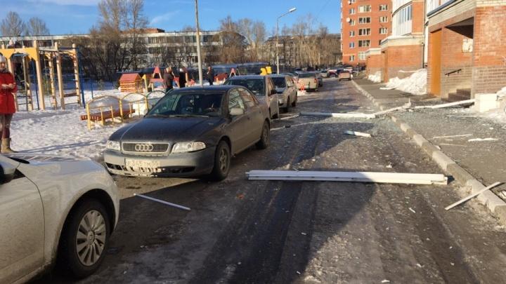 В девятиэтажке на Малиновского произошел хлопок из-за самогонного аппарата