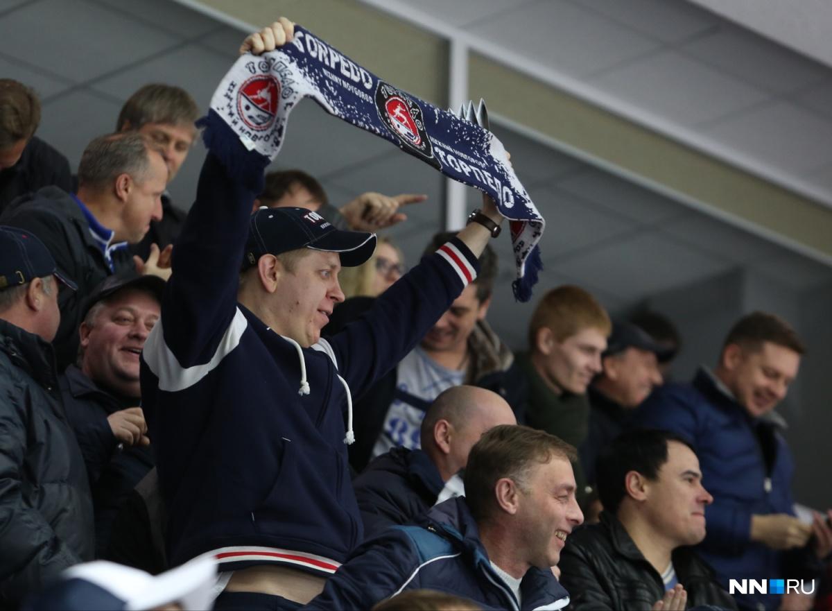 Нижегородское «Торпедо» терпит пятое домашнее поражение подряд