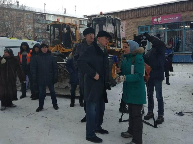 Спасатели вылетели из Екатеринбурга в Магнитогорск на помощь пострадавшим при обрушении дома