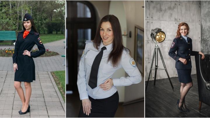 «Леди омская полиция»: смотрим на красоток в погонах