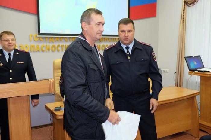 Владимир Олин задержал автомобиль виновников ДТП