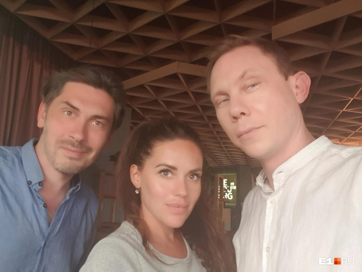Режиссер Александр Костыгин (слева) написал авторский сценарий для Нигатива (справа)