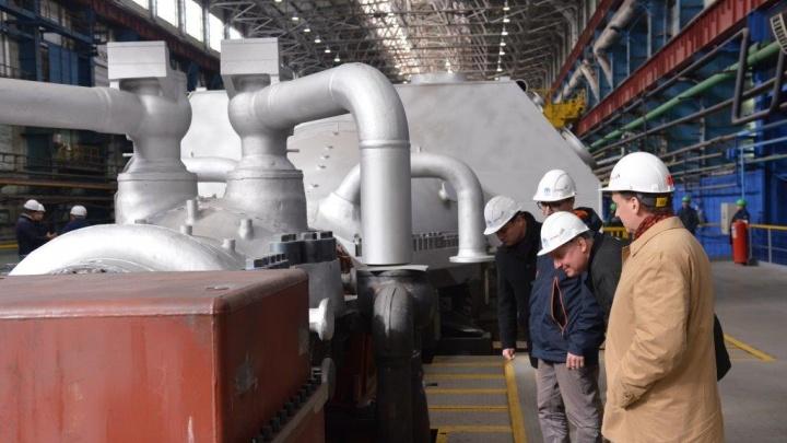 На Урале изготовили турбину, которая будет отапливать весь Новодвинск