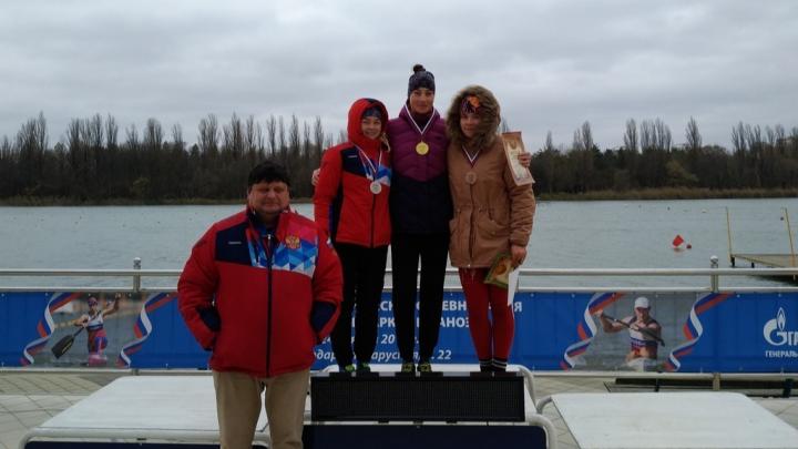 Серебро вдогонку к золоту: архангельская байдарочница победила на всероссийских соревнованиях