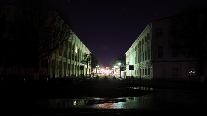 Ярославль погрузился во тьму. Как город отметил «Час Земли»: фоторепортаж