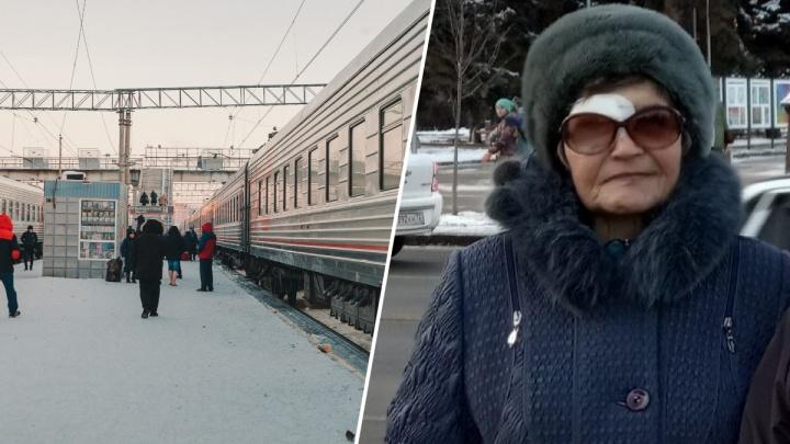 Возвращалась из Тюмени домой. Полицейские ищут бабушку, пропавшую после поездки на электричке
