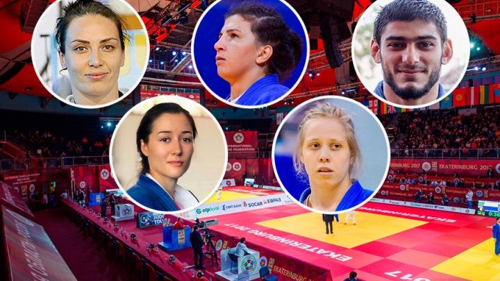 Сила пятерых: кто представит Свердловскую область на международном турнире по дзюдо «Большой шлем»