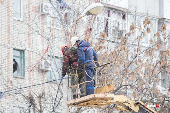 Некоторые дома останутся без электричества пять дней