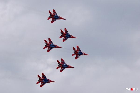 Истребители поднимутся в небо над Челябинском