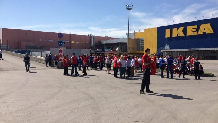 Из новосибирской «МЕГИ» эвакуировали посетителей