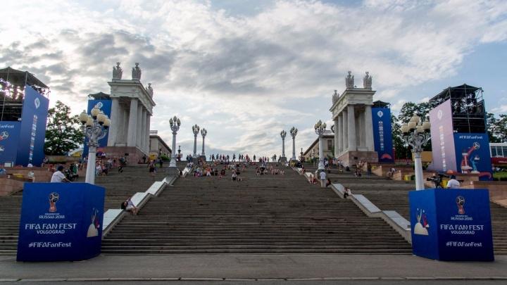 Технический перерыв: фан-зона Волгограда закрылась на два дня
