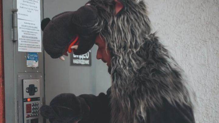 В «Дом.ru» провели эксперимент — откроют ли дети двери незнакомцам в Ростове-на-Дону
