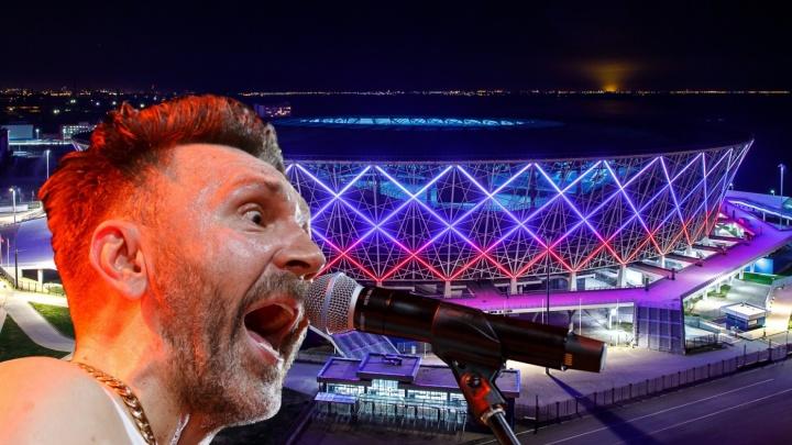 Охранять Шнура на концерте в Волгограде решилась единственная компания из Москвы