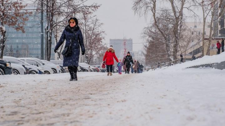 Крещенские дожди. В Прикамье ожидается оттепель и сильные снегопады