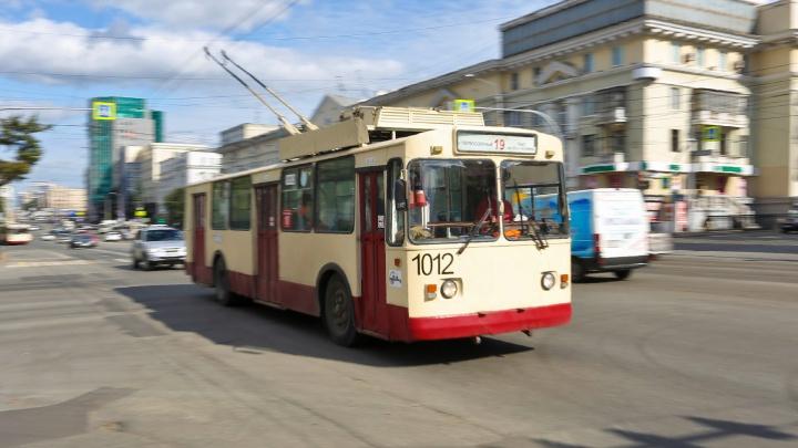 Для челябинцев изменили движение одного из троллейбусных маршрутов