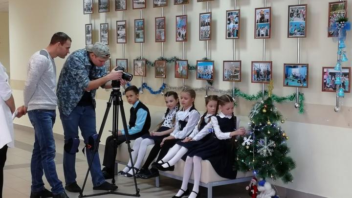 В Новосибирске начали снимать детектив об угнанной машине с подарками Деда Мороза
