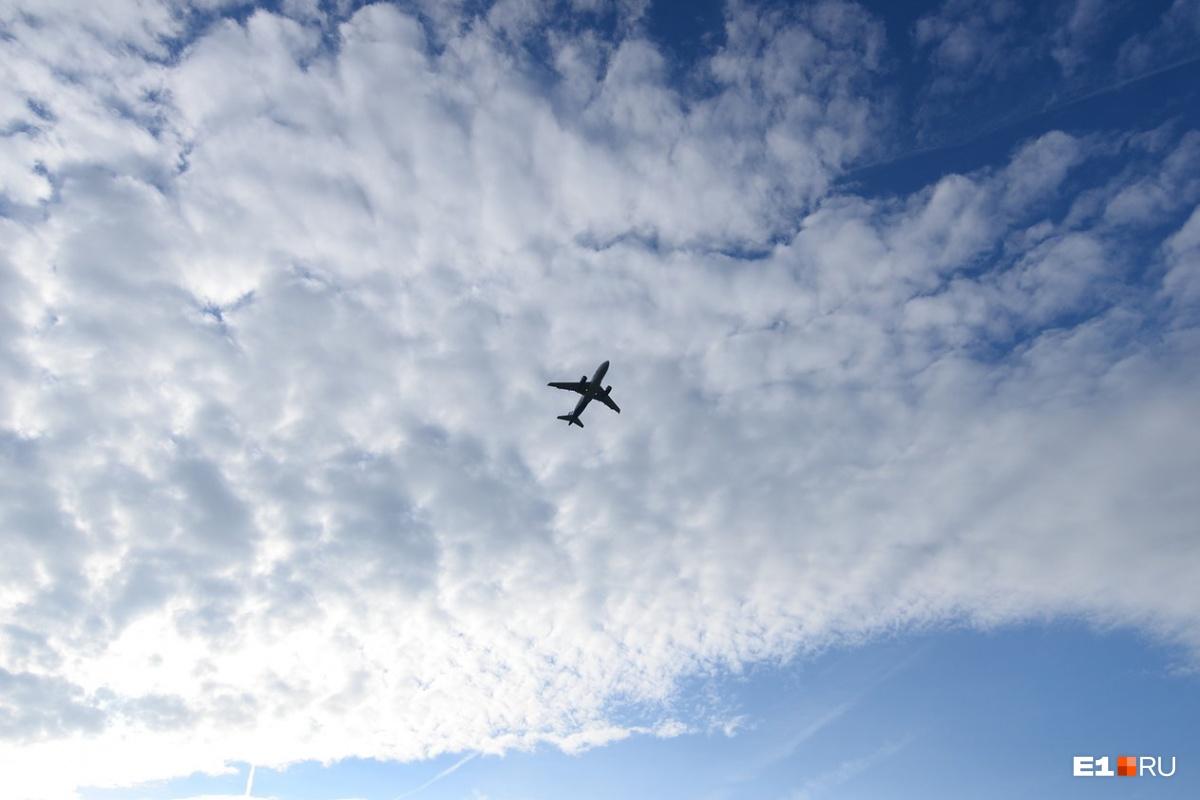 Самолёт смог сесть со второй попытки