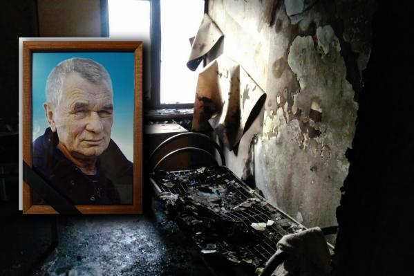По словам родственников погибшего, в ночь трагедии мужчинадействительно был привязан, но к нему зашли в палату и дали прикуренную сигарету