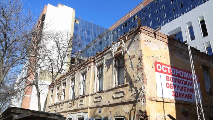 Полежаевскому пансиону, на месте которого построили Верховный суд, пытаются вернуть охранный статус