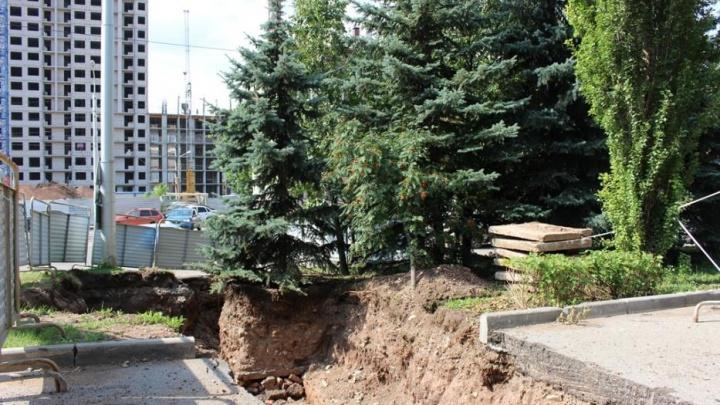 В Уфе из-за строительства новой теплотрассы на четыре дня перекроют одну из улиц