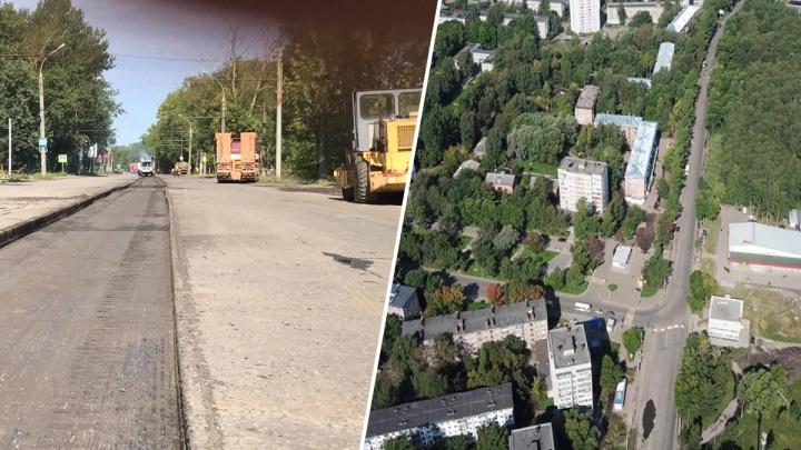 «До работ ещё очень далеко»: что творится на перекрытом участке Тутаевского шоссе. Фото с коптера