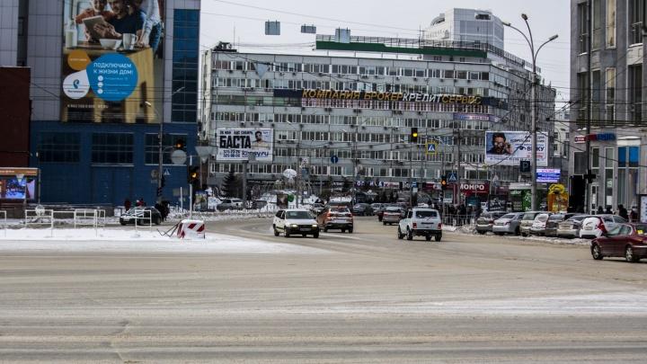 Через площадь не проехать: власти показали новую схему движения по площади Ленина