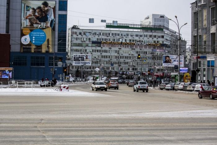 На площадке перед зданием Центробанка РФ появится большая парковка