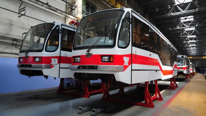 Гость с Урала: смотрим, как собирали новый омский трамвай на заводе в Екатеринбурге