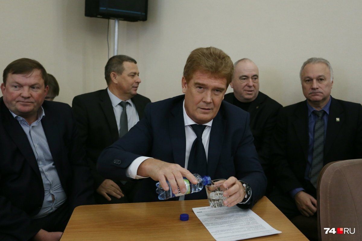 Владимира Елистратова назначили врио мэра Челябинска единогласно