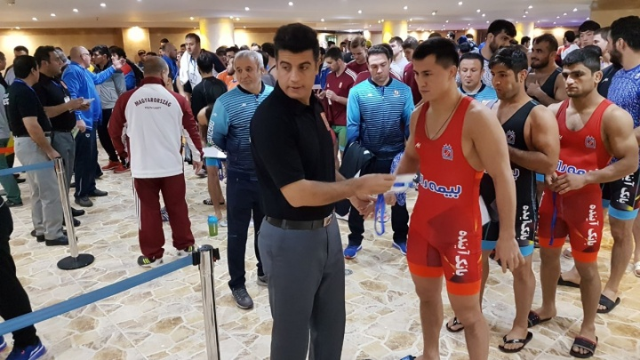 Роман Власов стал победителем клубного чемпионата мира в составе иранского «Бимеха Рази»