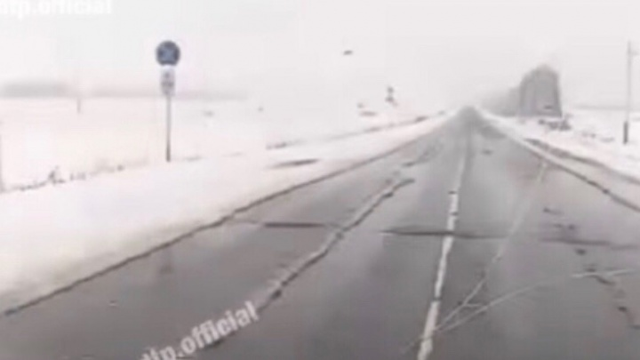На границе с Башкирией выпал снег, синоптики говорят, что скоро он придет и в столицу