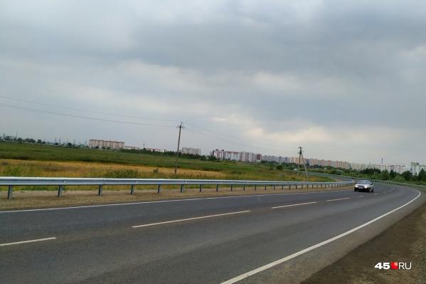 Шадринский тракт в Кургане практически готов