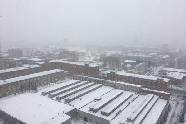 В ближайшие дни в Перми может выпасть снег