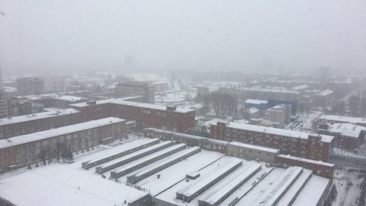 МЧС предупреждает пермяков о дожде и мокром снеге