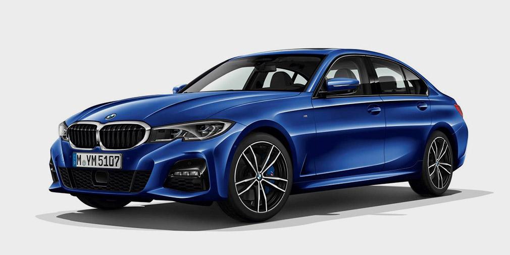 BMW показала новую машину с фарами и дверями от Lexus
