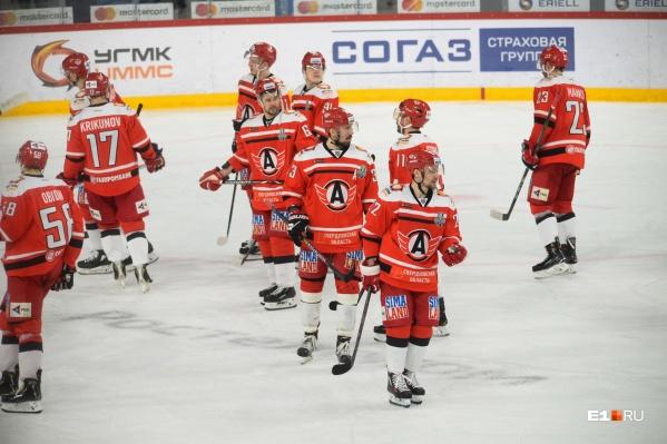 В плей-офф «Автомобилист» провёл девять матчей