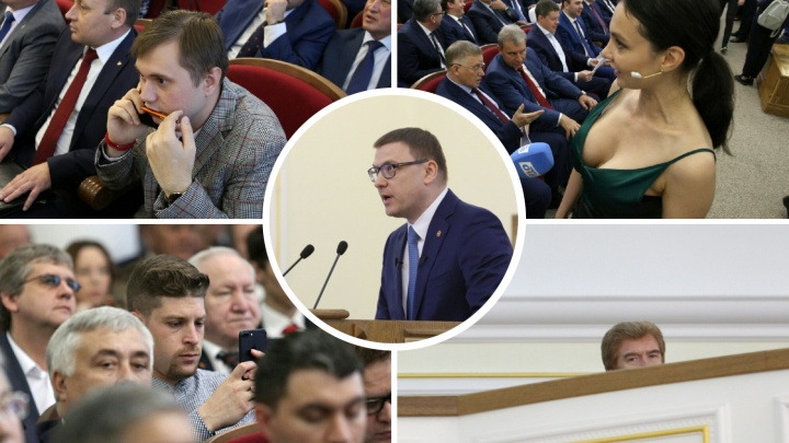 «Челябинск — не дойная корова»: Алексей Текслер отчитался перед элитами. Элиты заскучали