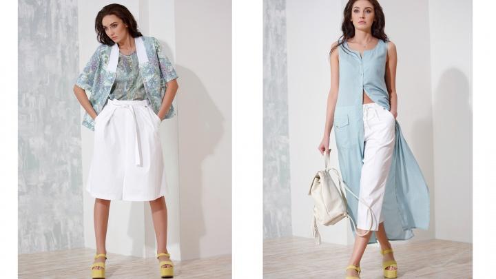 В дисконт популярного магазина поступила летняя коллекция: стильные блузы и юбки стоят от 300 рублей