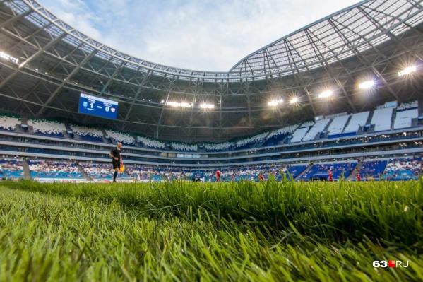 Новый стадион в Самаре построили специально для ЧМ-2018 по футболу